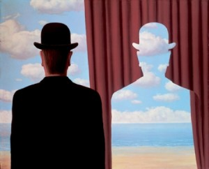Magritte, Decalcomania.